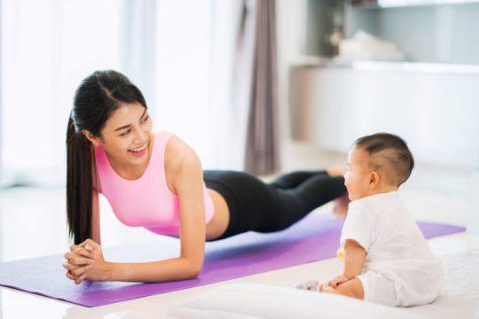 Tổng hợp 1 số cách giảm cân sau sinh an toàn